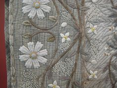 Nostalgia detail by Tsuneko Shimura. 2011 Tokyo International Quilt Festival. Photo by Be*mused [Jan B.], via Flickr