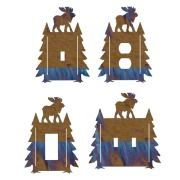 Moose Pines Switch Plate Outlet Covers
