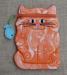Cat Zipper Case