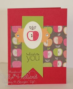 Jill's Card Creations - Perfectly Preserved Apple
