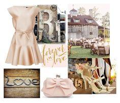"""Barn Wedding"" by deborahanamariarachelina ❤ liked on Polyvore featuring Paule Ka, Dee Keller, Boohoo, bestdressedguest and barnwedding"
