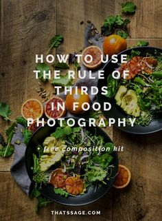 Use 'rule of thirds' help you and your food photography? Photography Composition Rules, Food Photography Styling, Food Styling, Photography Tricks, Iphone Photography, Abstract Photography, Wedding Photography, Photography Quotation, Levitation Photography
