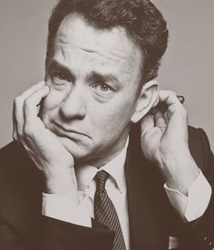 """Tom Hanks - In a league of his own. I have liked each and every one of his films, even the so-called """"flops"""". Some actors pick such great movies that they fit or make them fit them. Tom Hanks is definitely one of my faves."""
