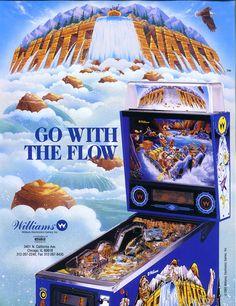 Pinball Machines - White Water Pinball Machine - The Pinball Company