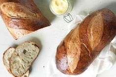 Extra-Tangy Sourdough Bread Recipe ... no commercial yeast
