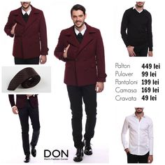 SHOP THE LOOK - 869 lei don-men.com #donstyle
