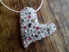 Crystal Clay Heart