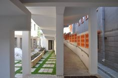 Hospital Building Design | By Sikander Ajam Khan Associates – Jinnah Post Graduate Medical Center Education Architecture, Architecture Design, Shading Device, User Centered Design, Training Center, Medical Center, Outdoor Areas, Building Design, Design Firms