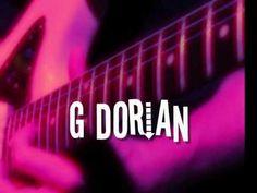 G Dorian Mode - Groovy Backing Track! - YouTube