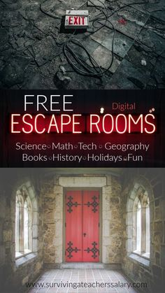 Free Digital Escape Rooms for Learning