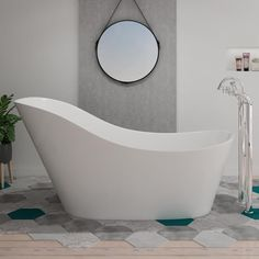 170 and not expensive here French Bathroom, Bathtub, Bathroom Ideas, France, Products, Freestanding Tub, Relaxing Bath, Standing Bath, Bath Tub