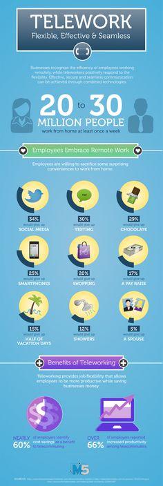 Infographic on Telework!