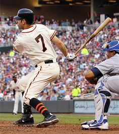 Old School Joe Mauer looks FANTASTIC in his throwback uniform...he could have played in the 60's!