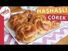 Haşhaşlı Şekerli Çörek Yapımı (Detaylı Videolu Anlatım) – Nefis Yemek Tarifleri