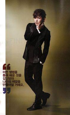 [MAG/SCAN] Infinite H - Star1 Magazine February 2013, Hoya