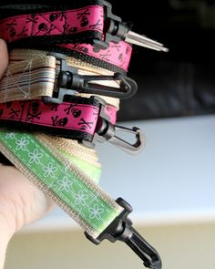 Dog leash sewing tutorial