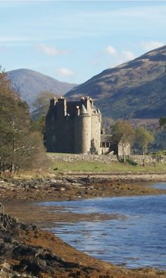 ༺✿༺ Dunderave Castle, Argyll and Bute, Scotland.
