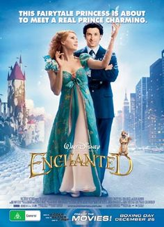Great film to watch for kids and adults. Disney pokes fun at their own fairy tale films and Amy Adams nails her role. Catchy tunes and a swell storyline round out this wonderful film. Enchanted Movie, Disney Enchanted, Disney Movie Posters, Disney Movies, Good Movies To Watch, Great Movies, Kid Movies, Movie Tv, Disney Films