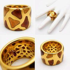 Giraffe ring.... oooh I like this one too!
