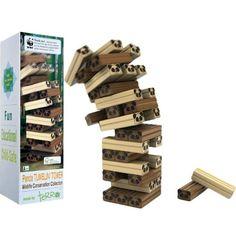 World Wildlife Fund (WWF) Panda Tumblin Tower Game - List price: $49.99 Price: $22.99 Saving: $27.00 (54%)