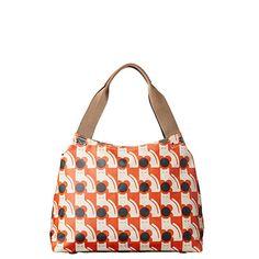 Orla Kiely | USA | bags | SALE - Bags | Poppy Cat Print Classic Zip Shoulder Bag…