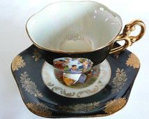 Vintage Shafford Lusterware Tea Cup and Saucer