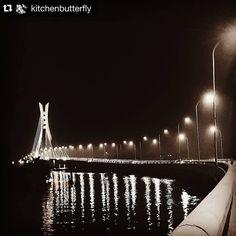 Photocredit @kitchenbutterfly  Lekki-Ikoyi bridge at Night   #memories #bridges #urbanstills #thisislagos #lookslikelagos #lagosviews #lagosviews #lekki #livinginlekki #vscobridges #architecture #vscoarchitecture #lekkiikoyibridge #monochrome #vscomonochrome #monochromatic #vscosepia #sepia  #samsungnote5 #note5 #kitchenbutterfly #lekki #photography #landmark #livinginlekki #lekki Bridges, Monochrome, Cool Pictures, Art Photography, Memories, Explore, Night, Architecture, House Styles