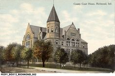 County Court House, Richmond, Indiana