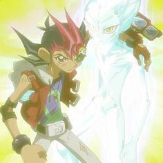 Yuma & Astral - Yu-Gi-Oh Zexal