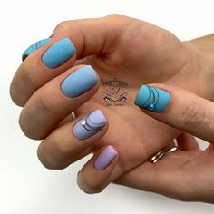 22 amazing turquoise manicure option which will make you Queen soft Nail Art Design Gallery, Best Nail Art Designs, Bright Nails, Blue Nails, Turquoise Nail Polish, Long Square Nails, Nail Design Spring, Plain Nails, Vacation Nails