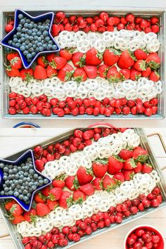 American flag snack tray for of July, Memorial Day, Labor Day or any of your summer parties of july food appetizers recipe ideas Patriotic Fruit Platter Idea for the of July, Memorial Day, and Labor Day 4th Of July Desserts, Fourth Of July Food, 4th Of July Party, July 4th Appetizers, Memorial Day Desserts, Fruit Appetizers, Patriotic Desserts, Bbq Party, Party Snacks
