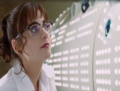 Zooey Deschanel as Trillion in Hitchhiker's Guide to the Galaxy (2005 UK film)