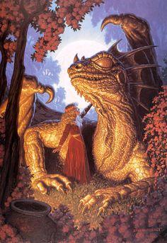 Brothers Hildebrandt  http://4.bp.blogspot.com/-abdvXHQohtM/Ts04K2lKgpI/AAAAAAAADOM/OGHZBqQ8RCM/s1600/Dragons+115_Brothers+Hildebrandt.jpg