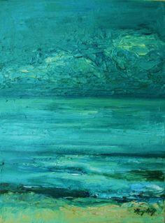 Original Textured Landscape Painting