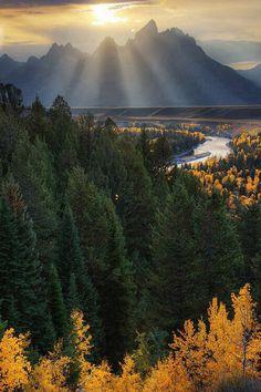 Snake River Overlook, Grand Teton National Park \\Dave McEllistrum