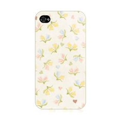 Double Flowers iPhone 4/4S Case