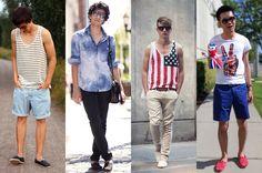 Alpargatas: Não importa a cor nem a estampa pois é trend e cai muito bem para dias de calor compondo qualquer look, tanto com bermudas ou calças.
