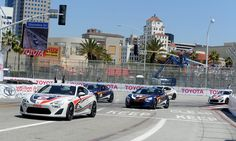 The Toyota Pro/Celebrity race kicks off Saturday morning April 20, 2013 at the 39th annual Toyota Grand Prix of Long Beach.