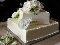 23 Ideas Wedding Cakes Vintage Square Simple For 2019 2 Tier Wedding Cakes, Country Wedding Cakes, Square Wedding Cakes, Rustic Wedding Venues, Elegant Wedding Cakes, Wedding Cake Designs, Wedding Ideas, Trendy Wedding, Wedding Stuff