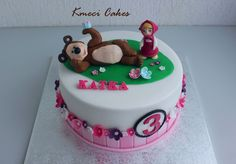 Masha and the Bear cake - Cake by KmeciCakes