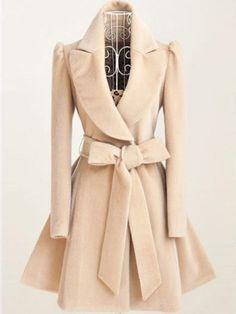 Mantel mit Gürtel - khaki 29.14