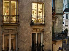 Gail Albert Halaban, From series Vis-à-Vis, Paris, 2012 Gaudi, Paris Balcony, Night Window, Paris Rooftops, Grand Paris, New York Photographers, French Property, Paris Apartments, Slice Of Life