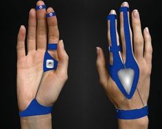 Wearable Air Mouse: The Air Mouse avoids repetitive stress injuries from normal mouse use. The Air Mouse only works as a mouse when your hands are flat.