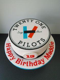 21 Pilots birthday cake