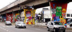 1º Museu Aberto de Arte Urbana do Mundo - São Paulo.
