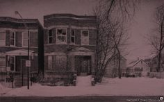 Laflin str., Chicago. Farmor sin tante Hanna giftet seg i 1906 med Adolph, f. i Sverige. De bodde i Wood Street, før de flyttet til Laflin Str. De fikk tre barn. Yrket til Adolph, var : Tool &Die Maker, i produksjonsindustrien. Yrket til Hanna var : Hushjelp