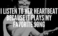 I can hear your heart...lil wayne.