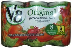 Campbell's V8 Juice 5.5 oz, 6-Count (Pack of 8) ** Review more details @