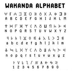 History Discover Seduced by the New.: World of Wakanda: Alphabet Alphabet Code Alphabet Symbols Sign Language Alphabet Glyphs Symbols Tattoo Alphabet Script Alphabet Alphabet Art The Words Different Alphabets Alphabet Code, Sign Language Alphabet, Alphabet Symbols, Glyphs Symbols, Tattoo Alphabet, Script Alphabet, Alphabet Art, Moon Glyphs, The Words