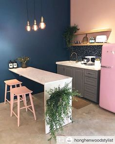 The 50 greatest small kitchen design ideas for your tiny space 4 Kitchen Interior, Kitchen Design Small, Interior, Home N Decor, Home Decor, House Interior, Home Deco, Home Kitchens, Home Interior Design